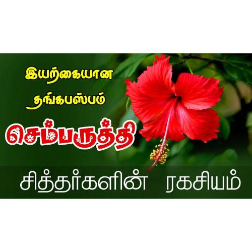 Hibiscus Semparuthi Tea Veena Organic Products